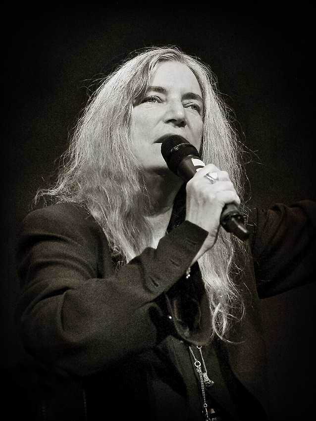 Patti Smith  Grand Palais