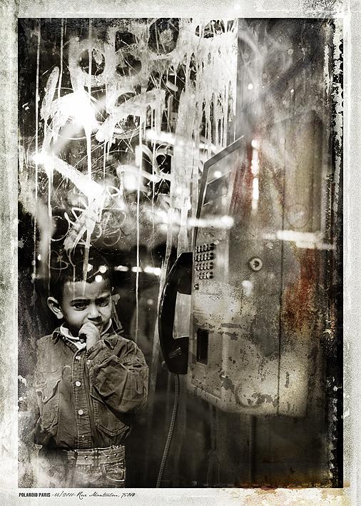 POLAROID PARIS - 66/2011-Rue Montcalm, 75018