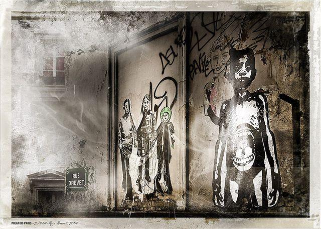 POLAROID PARIS - 73/2011-Rue Drevet, 75018