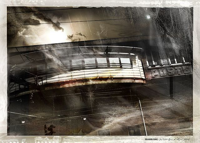 POLAROID PARIS - 74/2011-gare de Lyon, 75012
