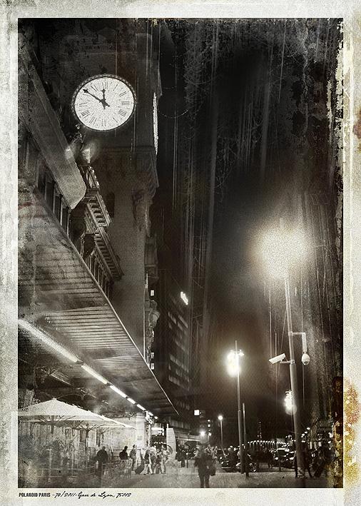 POLAROID PARIS - 78/2011-Gare de Lyon, 75012