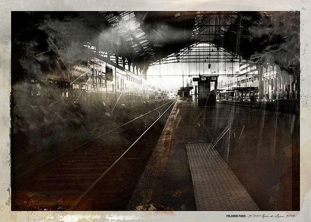 POLAROID PARIS - 79/2011-gare de Lyon, 75012