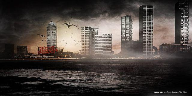 02 POLAROID URBAN / NYC - THE RIVER